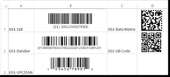 Barcode Mil Size Chart Gs1 Barcode Font Suites