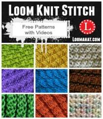 Loom Knitting Patterns For Beginners Cool Loom Hat Patterns 48 FREE Patterns LoomaHat