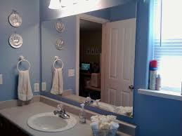 Framing A Large Mirror Framed Bathroom Mirror Ideas