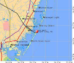 Surf City New Jersey Nj 08008 Profile Population Maps