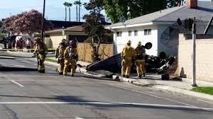 riverside news com small plane crashes in yard of california home pilot killed