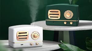 Máy Phun Sương Binbo Mini Hình Đài Cassette Hơi Nước Tạo Ẩm, Khử Mùi Trong  Phòng Có Đèn Led Ngủ - YouTube