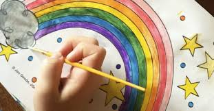 Each child will need a copy of our planting a rainbow printable. Printable Rainbow Coloring Sheet Perfect For Spring Kids Activites Blog