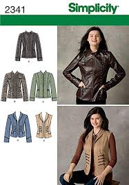 Simplicity Jacket Patterns