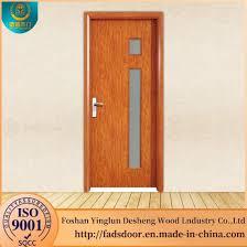 desheng house interior door kerala designs solid teak wood door with glass
