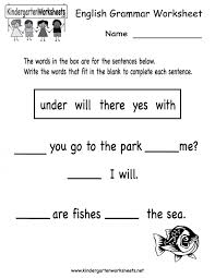 Kids. grammar for kids worksheets free: Grammar Review Worksheet ...