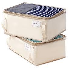 Storage Bags, Vinyl Chests & Bamboo Bags - Bed Bath & Beyond & image of Real Simple® 2-Pack Garment Storage Bag Adamdwight.com