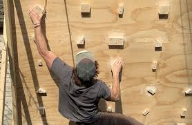how to build a bouldering training wall