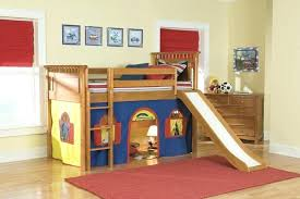 boy bunk beds with slide kids loft bed with slide ideas photos childrens double bunk beds