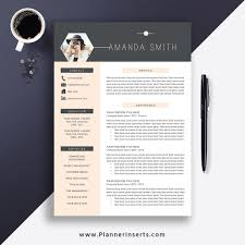 Cv Template Student Best Resume Template 2019 Cover Letter Office Word Resume Cv Template Editable Resume Simple Professional Resume Instant Download Amanda S