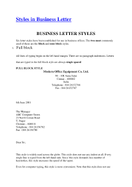 Bunch Ideas Of Example Of Simplified Block Style Business Letter