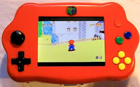 how to make a handheld portable nintendo 64 n64 gaming console how to make a handheld portable nintendo 64 n64 gaming console into64
