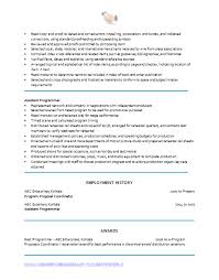 sales coordinator resume clinicalneuropsychology us Recreation Coordinator  Cover Letters