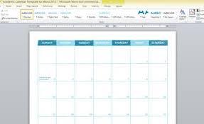 Agenda Template Word 2013 Academic Calendar Template For Word 2013 1 Powerpoint
