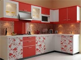 Colorful Flower Pattern Wohnideen   Custom Kitchen Solutions   Modular  Kitchens