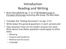 introduction reading and writing ppt video online  introduction reading and writing