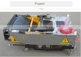 plastering machine 2016 automatic wall painting machine auto wall plastering machine fully auto wall rendering machine