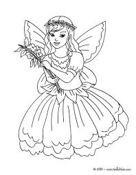 Small Picture Fairy flower dress coloring pages Hellokidscom