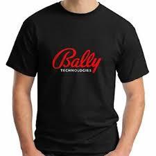 Details About New Bally Short Sleeve Technologies Logo Black Mens Size Usa Size T Shirt En1