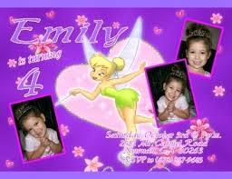 Tinkerbell Template Tinkerbell Birthday Invitation Template Tatilvillam Co