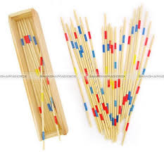 Game With Wooden Sticks