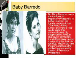 This is a rare and exclusive interview of repertory philippines' artistic director, baby barredo about how repertory philippines started. Theatre And Performance Arts On Stage And On