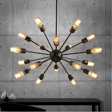 vintage pendant lights rope edison bulb lamp modern fixtures lighting led iron pipe antique light spider loft lamps dining room pendant