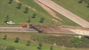 Lancaster County Log Truck Log Truck Accident Shuts Down