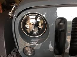 raxiom wrangler led headlights j103746 07 17 wrangler jk raxiom smoke led headlight j103746