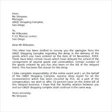 Apology Letter For Being Late 7 Download Free Documents In Pdf Word
