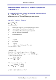 Statistics Graphics For The Laboratory 25 Biological Variation