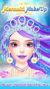 mermaid princess makeup makeover princess games