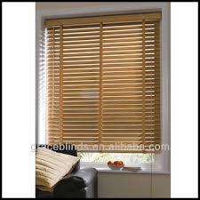 Decorating Faux Wood Blinds 1 Inch  White Wood Blinds  Faux Real Wood Window Blinds