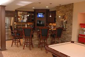 Basement With Bar, Theatre and Workout Room traditional-wine-cellar
