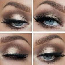 prom makeup for hazel eyes and white dress google search