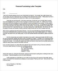 Fund Raising Letters Cool 44 Sample Fundraising Letters Sample Templates