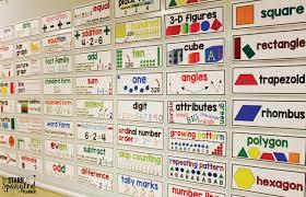 math word walls how to teach math voary