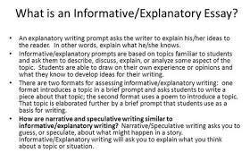 Explanatory Essay Format How To Write An Explanatory Essay Outline Examples