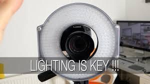 F&V HD R-300 <b>LED Ring Light</b> Review - YouTube