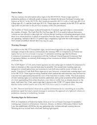 chapter literature reviews treatments used at pedestrian  page 7
