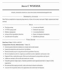 ... Pleasurable Data Entry Clerk Description Best Resume Example LiveCareer  ...