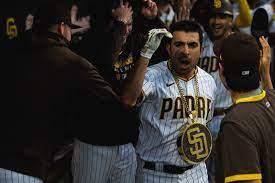 Of course Padres' grand slammer Daniel ...