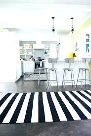 black and white striped rug runner area glitter inc with blac