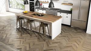 Best wood flooring for kitchen Vinyl Flooring Most Hardwood Floors At Lauzon Are Offered In Both Multilength And Herringbone Length So Express Your Creativity Discover All Our Herringbone Wood Floors Lauzon Flooring Choosing The Best Kitchen Wood Floor For Your Home Lauzon Flooring