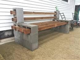 ... Large Image for Cinder Block Bench Blog Post View Builders Cinder Block  Bench Cinder Block Bench ...