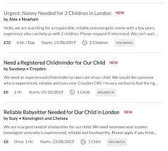babysitting jobs london babysitting jobs care com appjobs