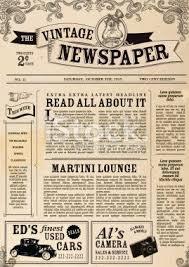 Newspaper Psd Template Download Vintage Newspaper Psd Template Download Vintage Newspaper Template