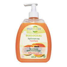 <b>Крем</b>-<b>мыло для рук</b> Тропическая папайя <b>Molecola</b> – интернет ...