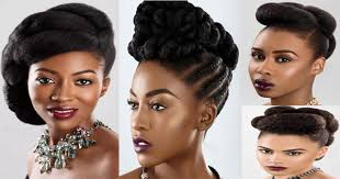afro hair 4 ideas for natural wedding