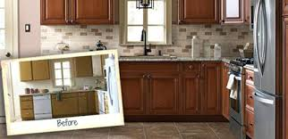 refinish kitchen cabinets home depot faced